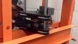 2-Stroke Crank Rebuild and True Video