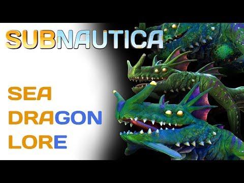 Subnautica Lore: Sea Dragon Leviathans | Video Game Lore
