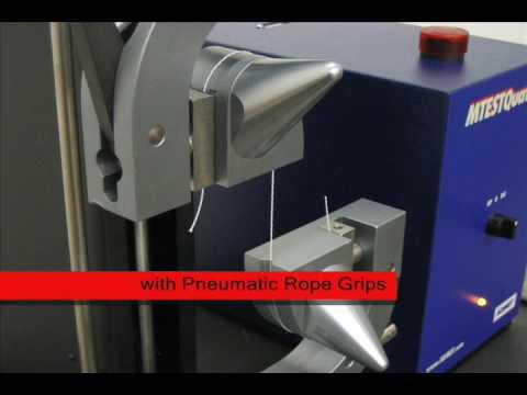 Thread Tensile Strength Test - ASTM D2256