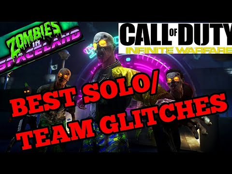 Call Of Duty Infinite Warfare All Working Glitch Spots Zombies in Spaceland EASY Glitches 2017