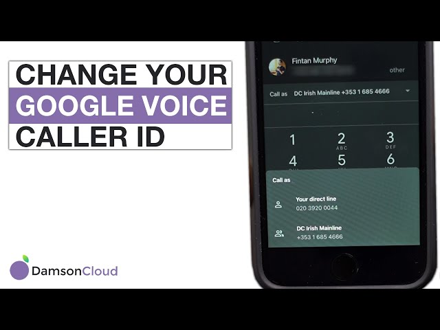 How to Change Your Google Voice Caller ID