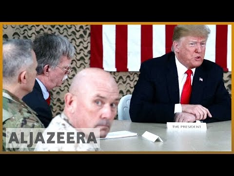 🇺🇸Trump defends Syria pull-out during surprise visit to Iraq | Al Jazeera English