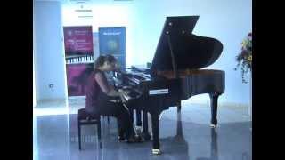 F. Liszt Transcendental Etude No.1 Preludio C - major - Lejla Tucaković