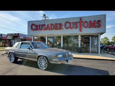 whipaddict 86 oldsmobile cutlass supreme on dub 28s custom paint interior car audio youtube whipaddict 86 oldsmobile cutlass