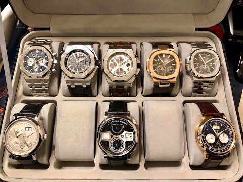 LUXURY WRIST WATCH COLLECTIONS OF THE SUPER RICH