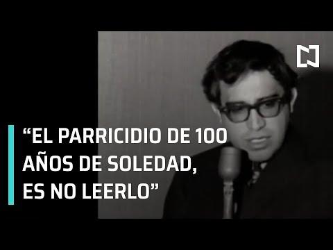 Carlos Monsiváis; Adela Micha entrevista a Carlos Monsiváis, sobre la novela 100 años de soledad