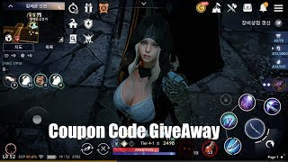 Black Desert Mobile Coupon Code GiveAway