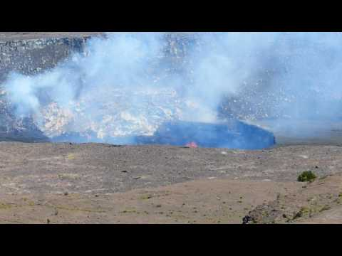Lava from along way of
