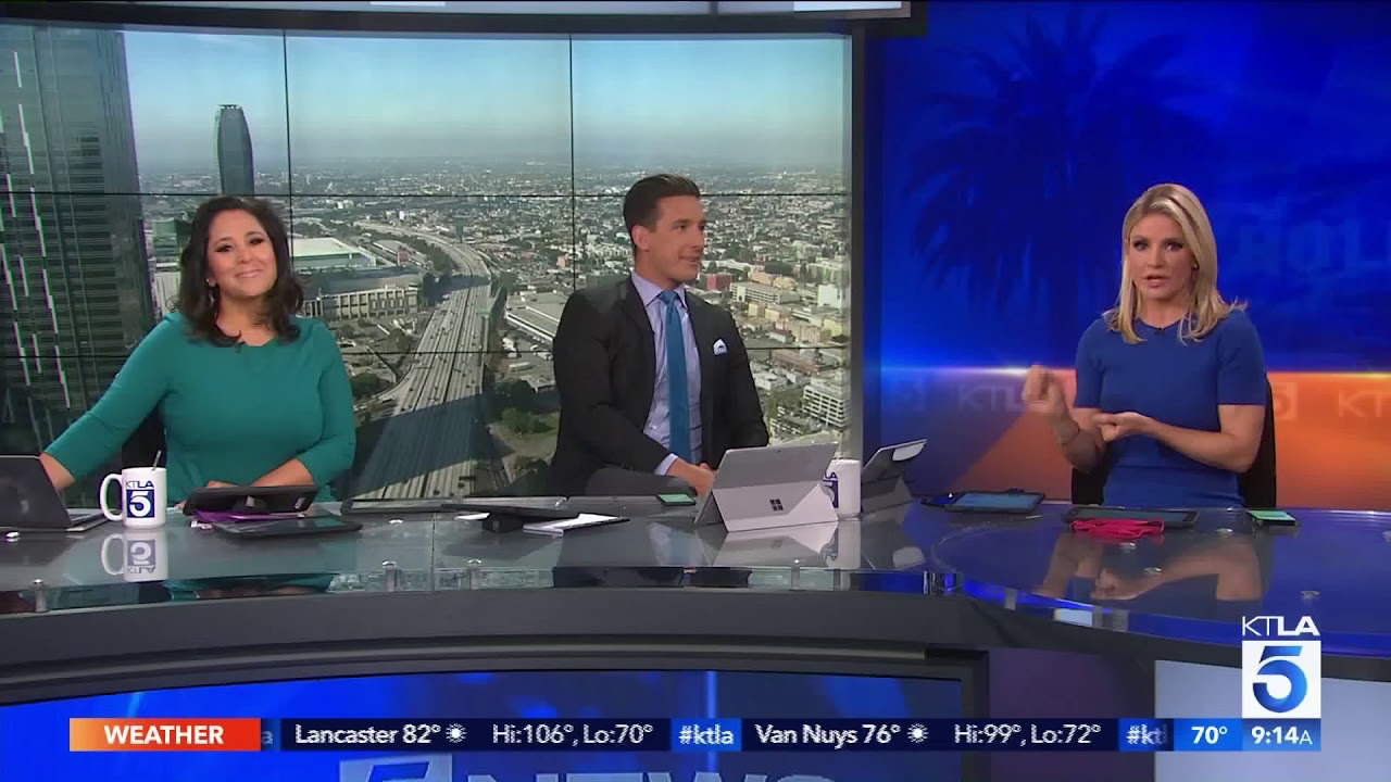 Ktla Executive Producer Shows Off Epic Knowledge Of Taylor Swift On Live Tv Youtube