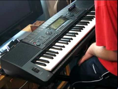 yamaha psr 520 keyboard part 1 3 youtube