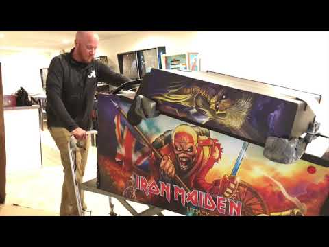 SDTM: Unboxing an Iron Maiden Pro pinball machine