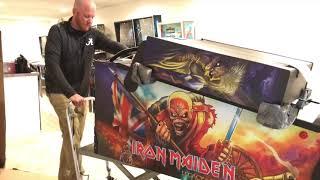 SDTM: Unboxing an Iron Maiden Pro pinball machine