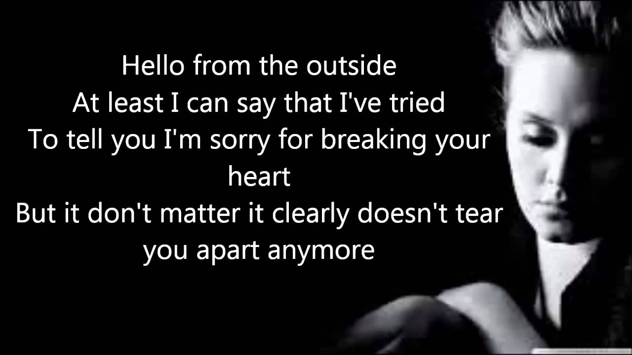Adele Hello Official Lyrics Video Hd