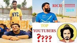 Top 4 2019 YouTube Hindi Channel In India || Who Is No.1