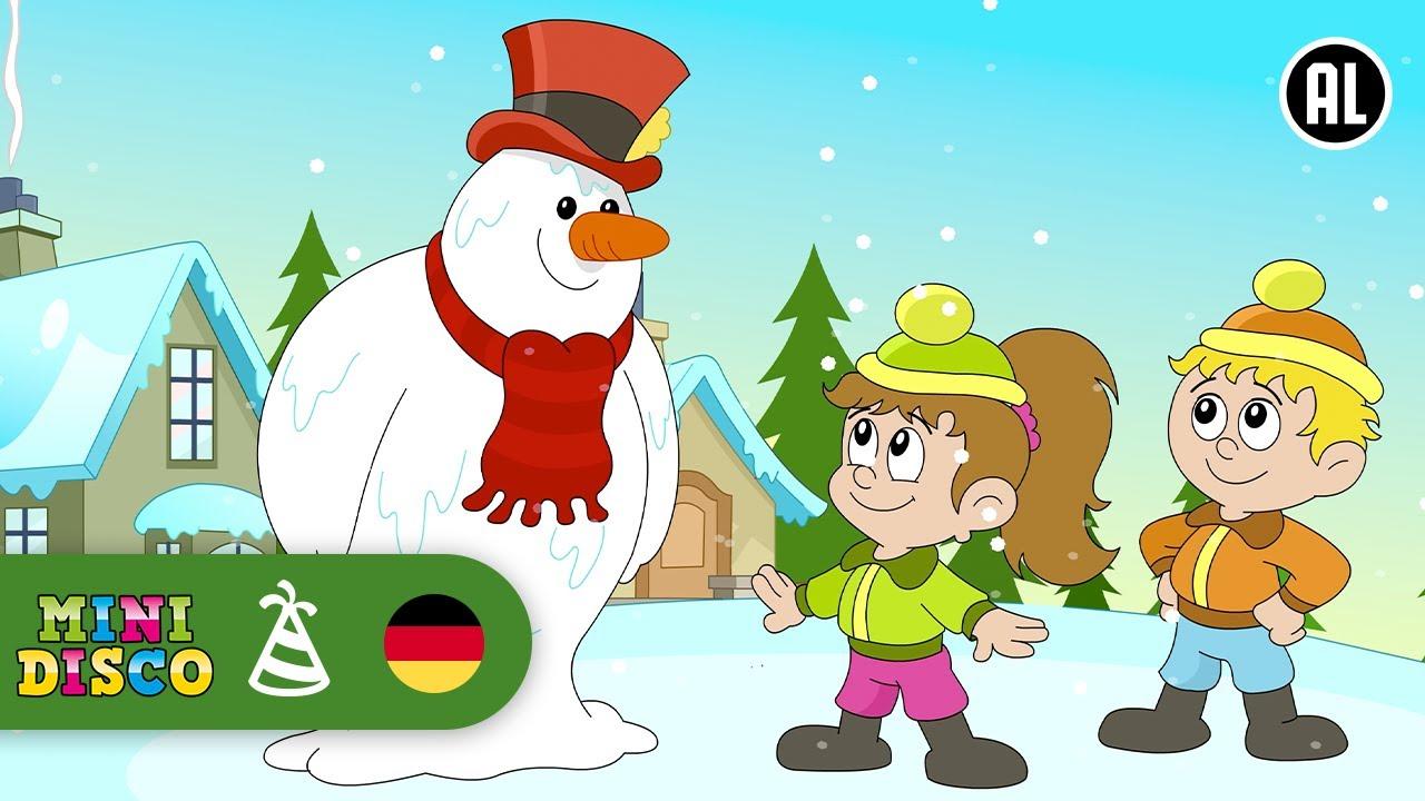 Frosty der Schneemann | Weihnachtslieder | FROHE WEIHNACHTEN ...