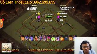 Sock với combo 13 wich clear H11 Max Của Dz Luffy- Clans VietKing