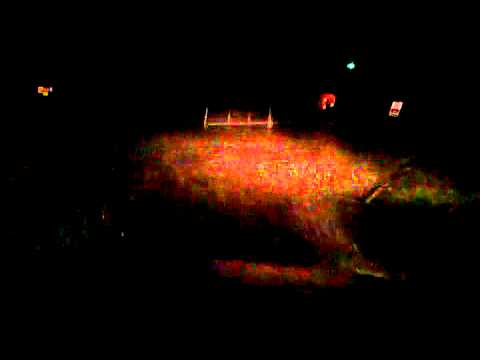 Wild night at Ardrossan Harbour 7/1/15