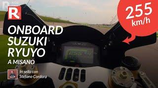 Suzuki Ryuyo on board a Misano - 255km/h 🤪
