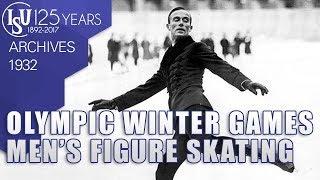 III Olympic Winter Games - Men's Figure Skating - Lake Placid 1932 - ISU Archives