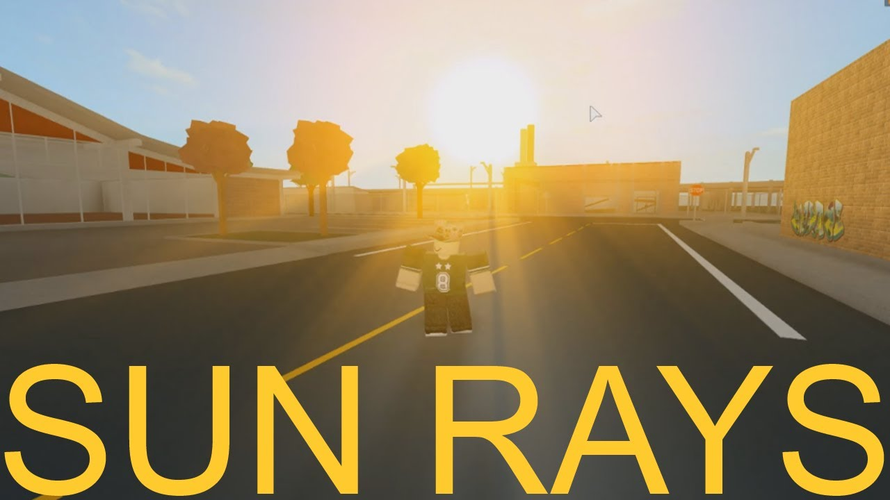 ROBLOX  How to Add Sun Rays To Your Game  YouTube