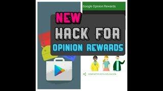 [Working 2018] Google Opinion Rewards Hack