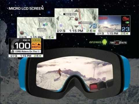 Heads Up diaplay ski goggles-IAATtech thoughts
