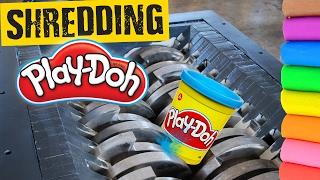 Shredding Playdoh - Shredding Stuff #13