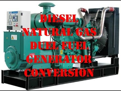 Backup Your Diesel Generator With Natural Gas
