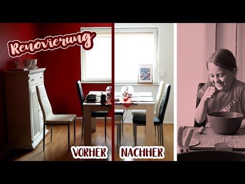 Küche Renovieren | Dunkle Wände Weiß Streichen | WM 2018 GerMex Get Ready | Familien Vlog | Xscaped