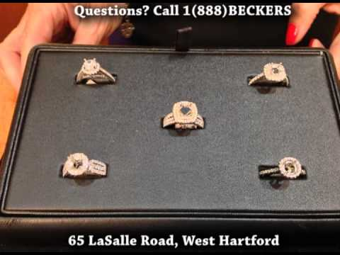 Engagement Ring Settings Wedding Ring Mountings at Beckers Diamonds & Fine Jewelry West Hartford CT
