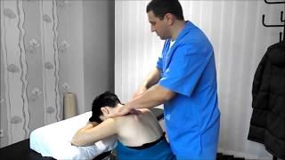 Лечебный массаж шеи и шейно воротникой зоны. Массаж при шейном остеохондрозе.