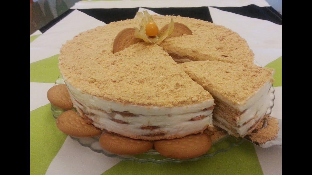 Pudim De Bolacha Maria Com Cafe