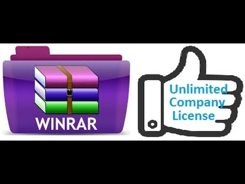 How to register Winrarfree at Unlimited Company License 86bit and 64Bit