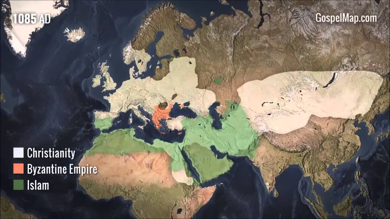 The Spread of Christianity - YouTube