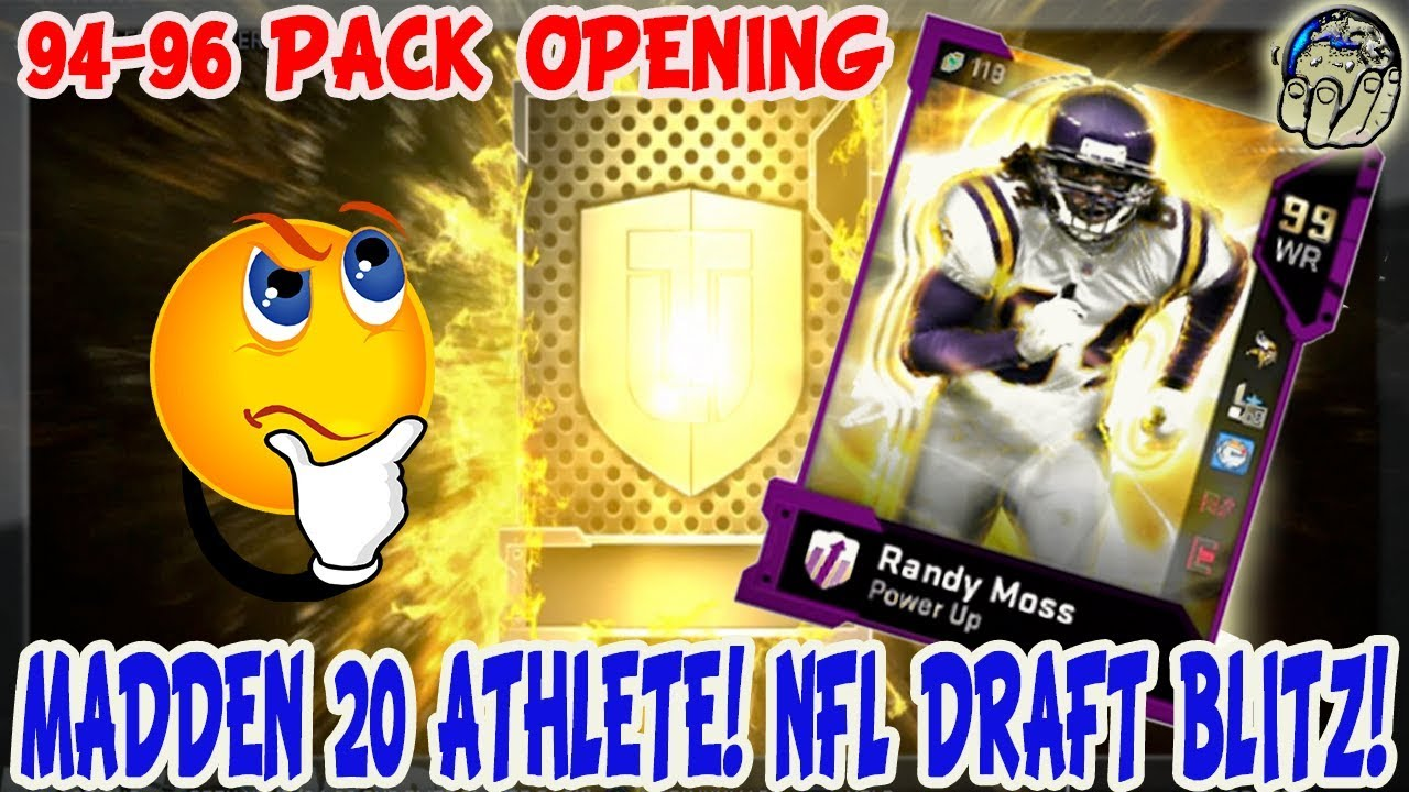 Madden 20 Cover Athlete REVEAL! NFL Draft BLITZ DEALS Last Minute  Decisions! MUT 19 Pack Opening