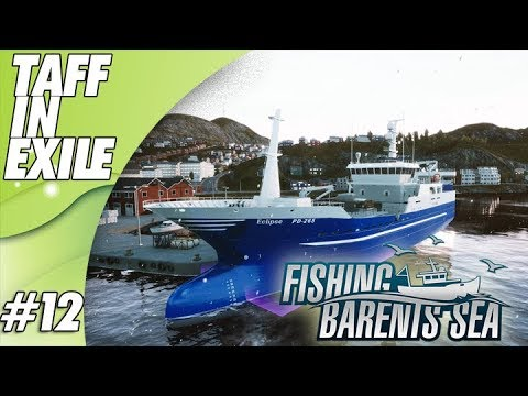 Fishing: Barents Sea | Lets Play | First Lunar Bow Trawl