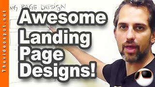 Wordpress Web Design Tutorial: Create a frickin awesome landing page without buying software(Download my best website blueprints: http://bit.ly/webblueprints and convert more of your website visitors FASTER! In this video, I'll show you two ..., 2015-03-03T10:00:01.000Z)