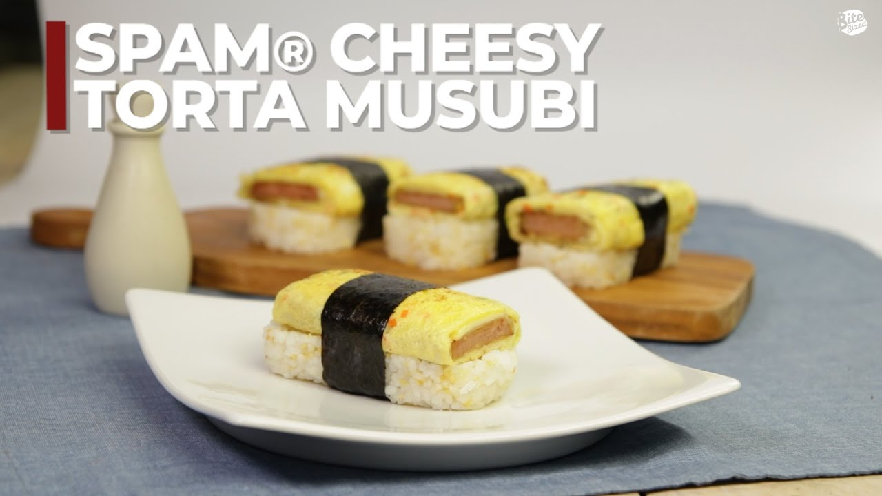 Spam Cheesy Torta Musubi Youtube