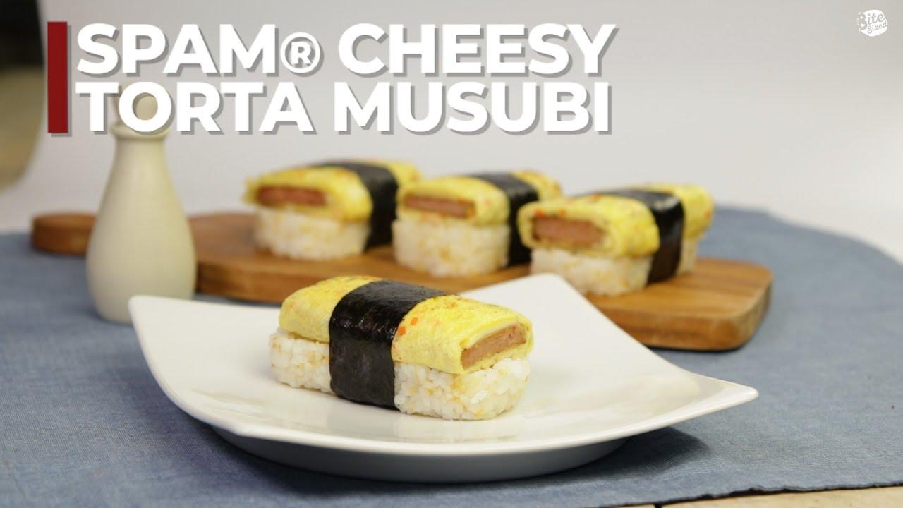 Spam Cheesy Torta Musubi Youtube