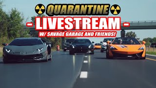 Quarantine Livestream #1! BSing W/ The Boys Ft. Street Speed 717, Vehicle Virgins, Mondi, And More!
