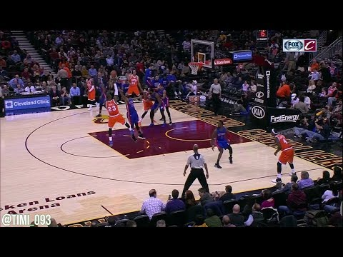 Marcus Morris Defensive Highlights on LeBron James (2015-17)