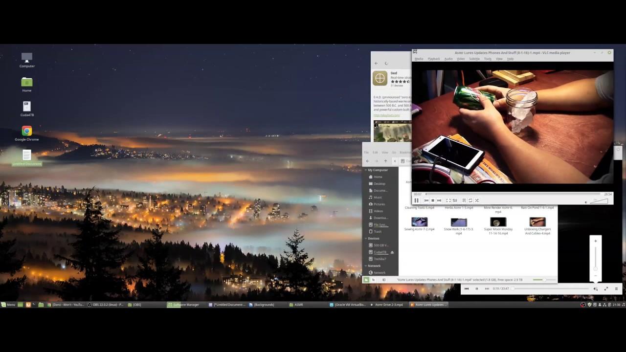Ryzen 2600 Multitasking in Linux Mint 19
