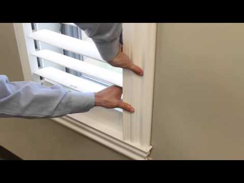 DIY Plantation Shutters See how SnapView Shutters DIY self