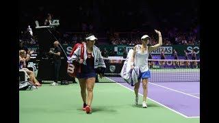 2017 WTA Finals  | Martina Hingis' Final Match | Chan/Hingis vs Babos/Hlaváčková