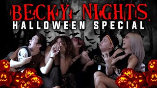 THE BECKY NIGHTS HALLOWEEN SPECIAL (MALALANG TAKUTAN!) | BECKY NIGHTS