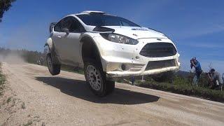 rally de portugal 2015 test m sport evans tanak testing a new fiesta wrc evolution