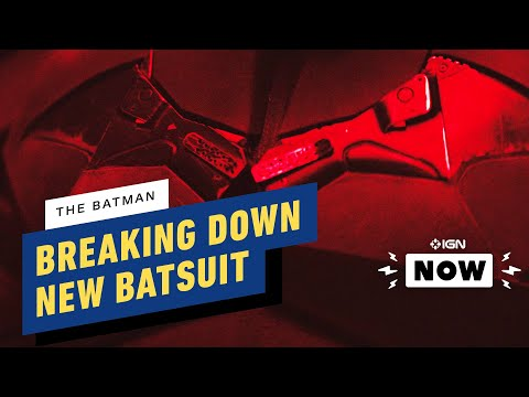 The Batman: Breaking Down the New Batsuit - IGN Now