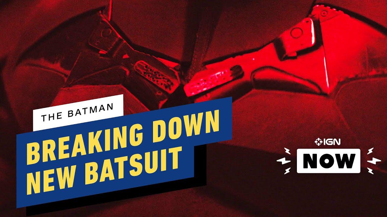 The Batman: Breaking Down the New Batsuit - IGN Now + vidéo
