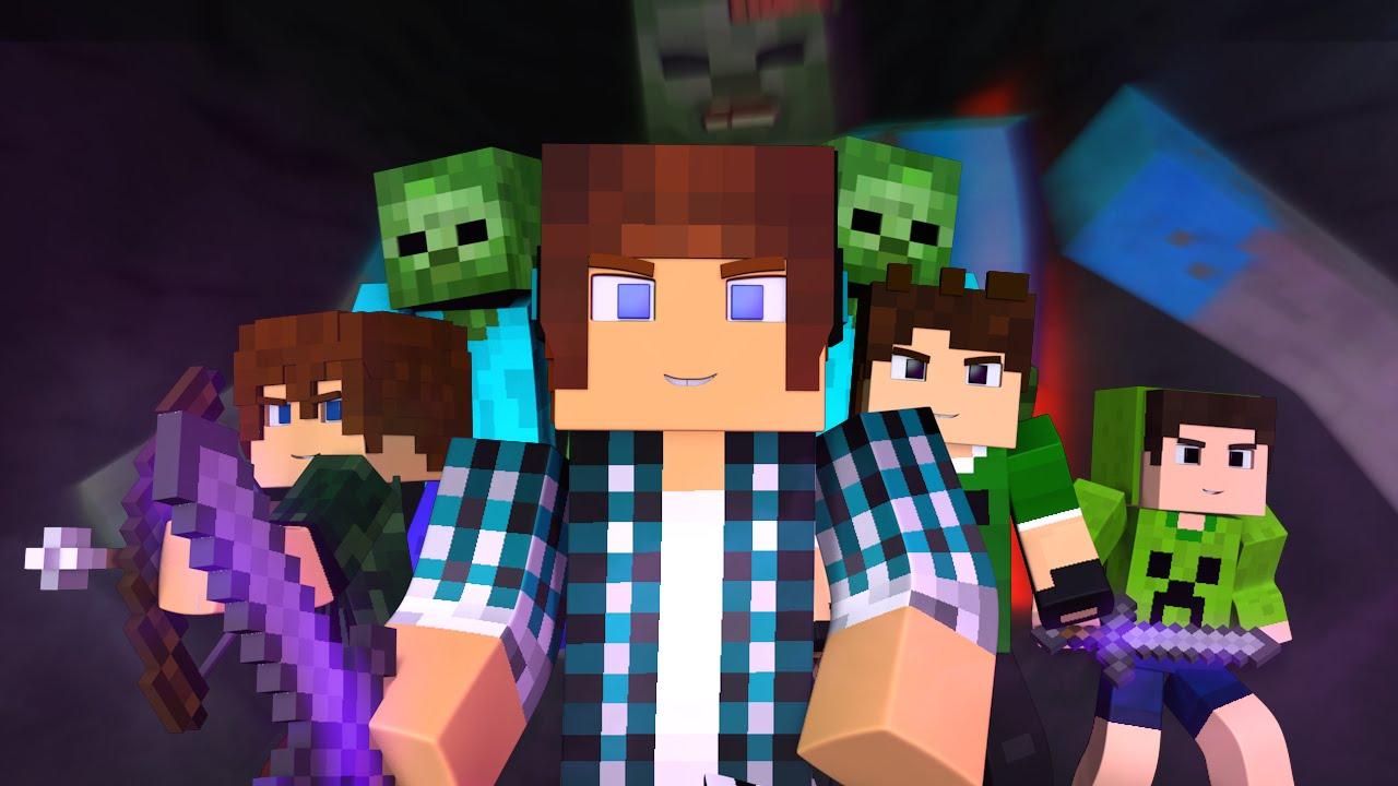 Minecraft m sica com meus amigos animation minecraft for Free mind craft games