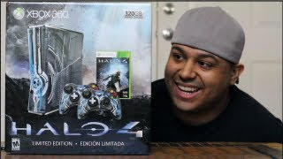 UNBOXING: HALO 4 XBOX 360 [Limited Edition]